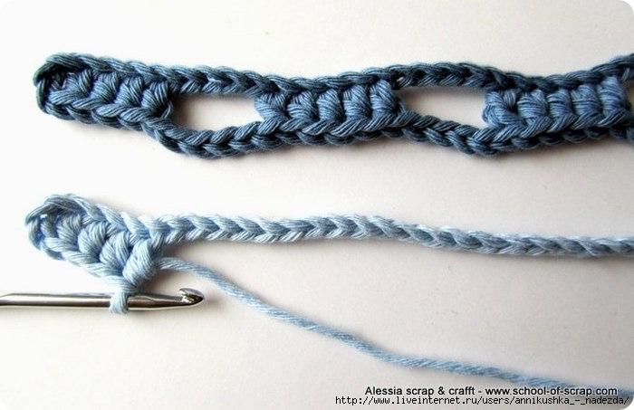 钩法新奇的套索式围巾,你也试试吧(附教程) - 钩针姐姐 - 钩花博客钩针图解crochet blog
