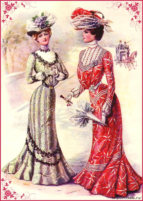 imagenes-vintage-gratis-damas-de-epoca (497x700, 380Kb)