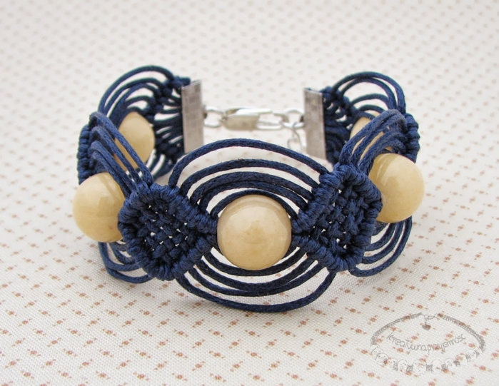 Bracelet 'Macrame Technique'