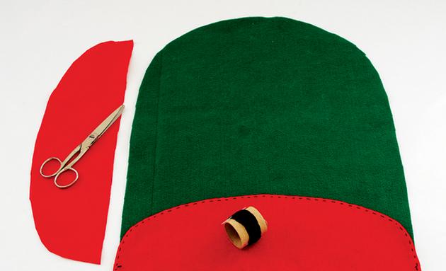 Дед Мороз на унитазе. Готовимся к празднику, шьем для ванной комнаты (1) (630x383, 363Kb)