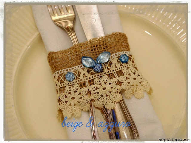 burlap and lace napkin ring cornice (640x480, 201Kb)