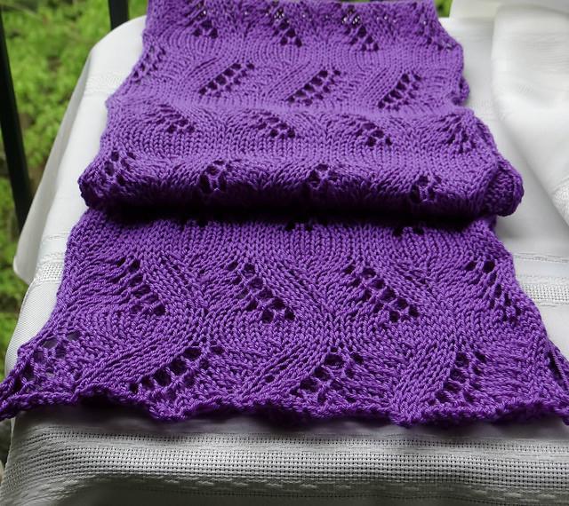 """针织:""""漂亮的小围巾"""" - maomao - 我随心动"""