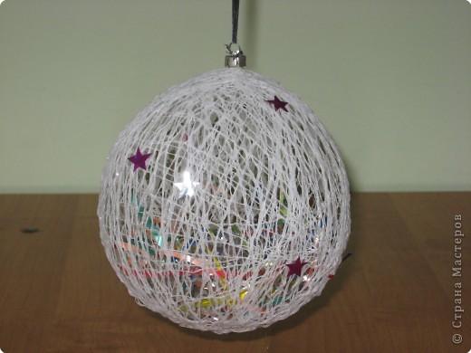 Новогодняя игрушка из подручного материала своими руками