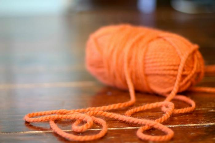 Вязание на пальцах рук