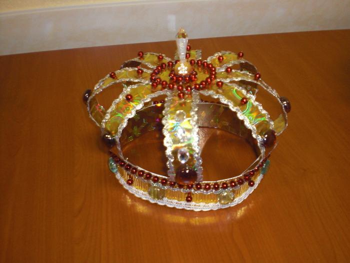 Как сделать корону царю своими руками