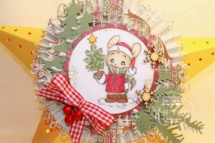 Светящаяся рождественская звезда из картона своими руками (18) (700x466, 249Kb)