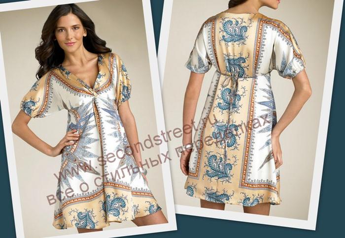 Как сшить платье своими руками из купонной ткани