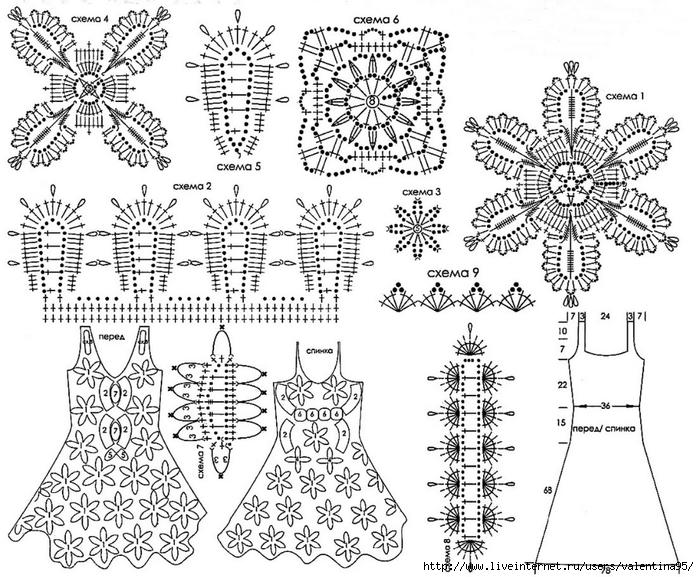 Naryadnoe-plate.-Shema-irlandskoe-kruzhevo (700x577, 323Kb)