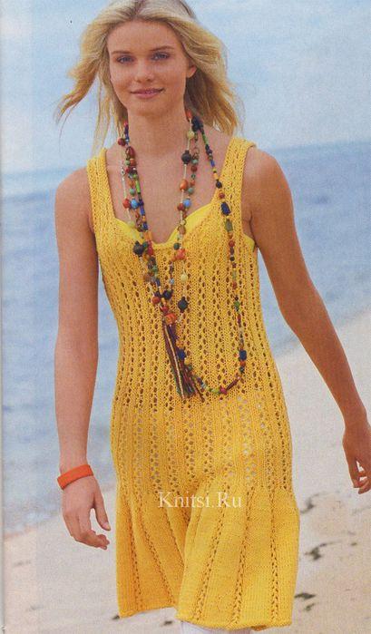 желтое платье (409x700, 53Kb)