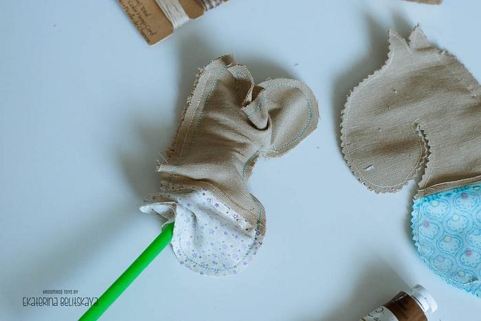 Лошадка - кофейный сувенир для подарков к Новому году. Мастер-класс (25) (700x467, 194Kb)