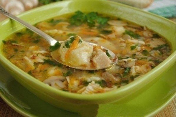 гречневый суп с картоф клецками (597x397, 115Kb)