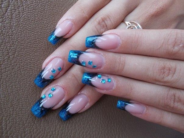 Нарощенные ногти фото красивые весна