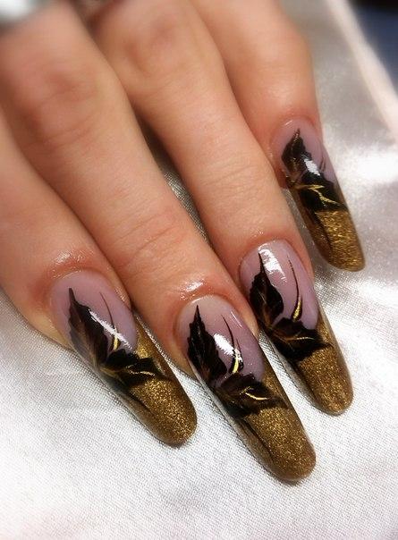 Ногти зима 2014 фото новогодние ногти