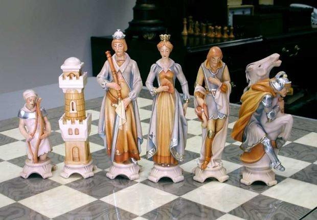 века все шахматные фигуры