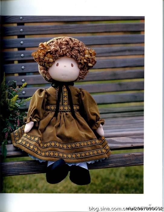 Журнал по пошиву замечательных куколок (6) (543x700, 277Kb)