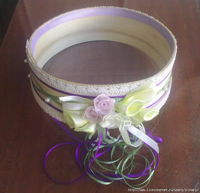 Как сделать сито на свадьбу своими руками