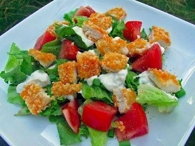 салат с курицей (400x300, 80Kb)