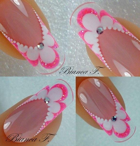 Мк пошаговые дизайн ногтей