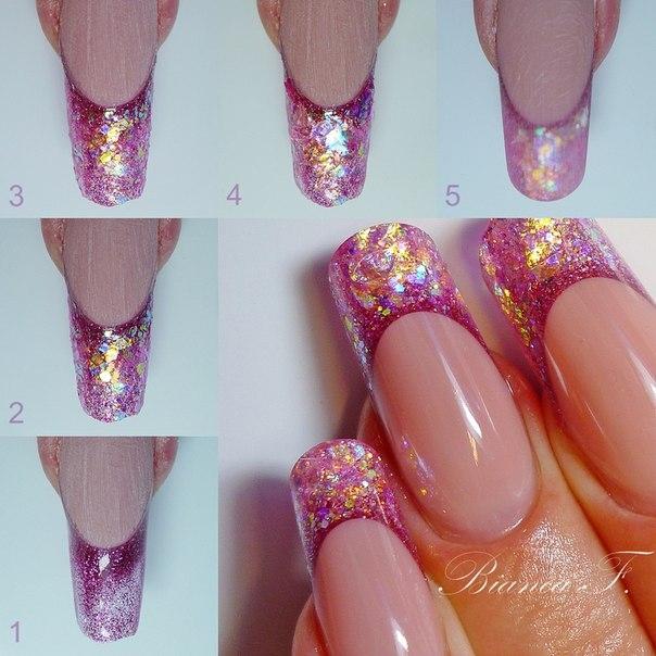 Ногти дизайн пошаговые фото