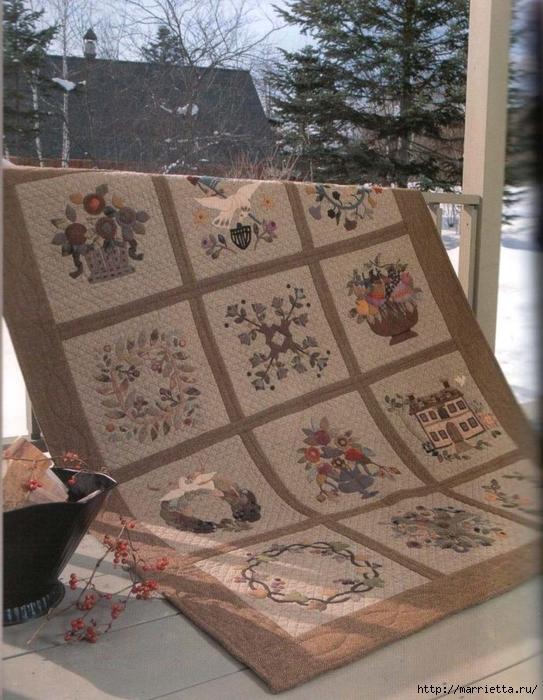 Лоскутное шитье ПЭЧВОРК для дома. Японская книжка с красивыми идеями (26) (543x700, 317Kb)