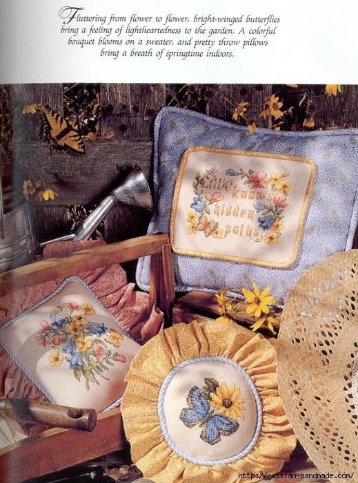 Примеры красивой винтажной вышивки. Журнал со схемами (12) (519x699, 366Kb)