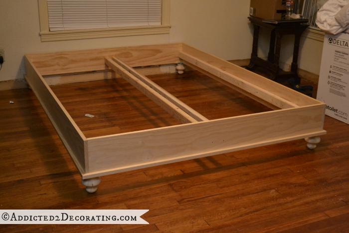 Как сделать из мебельного щита кровать 4