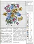 Превью Примеры красивой винтажной вышивки. Журнал со схемами (52) (551x699, 375Kb)