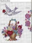 Превью Примеры красивой винтажной вышивки. Журнал со схемами (62) (533x699, 366Kb)