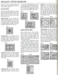 Превью Примеры красивой винтажной вышивки. Журнал со схемами (78) (542x699, 295Kb)