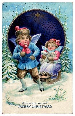 Нотные винтажные рождественские украшения (9) (261x400, 137Kb)