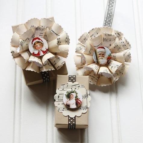 Нотные винтажные рождественские украшения (32) (475x475, 113Kb)