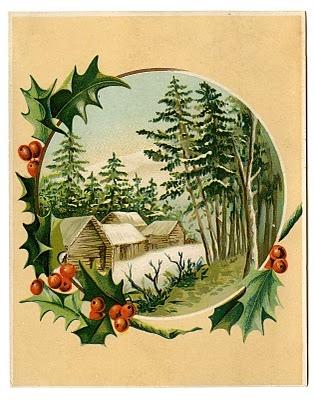 Нотные винтажные рождественские украшения (34) (314x400, 115Kb)