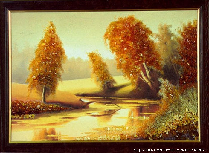 Картина из янтаря (699x512, 211Kb)