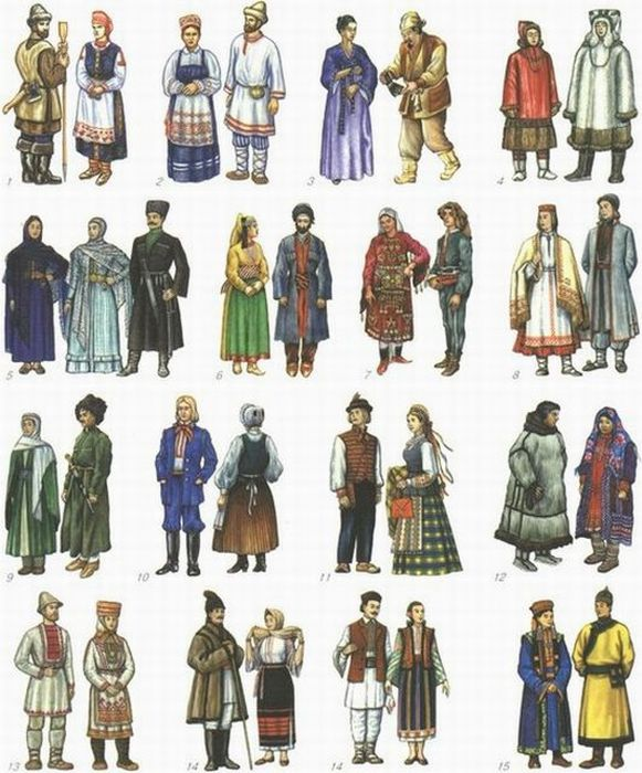 национальная одежда лезгинов фото
