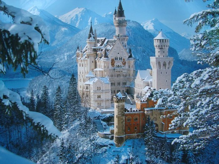 5Neuschwanstein-Castle-Germany.-Замок-Нойшванштайн-Германия. (700x524, 125Kb)