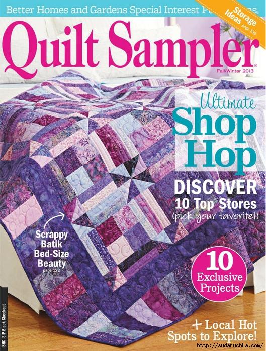 Quilt Sampler FW2013_1 (529x700, 437Kb)