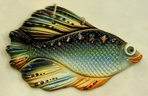 Метки плакетка рыба сувенир рыба