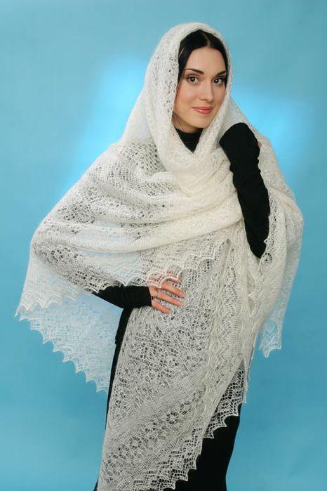 Материалы для вязания шали