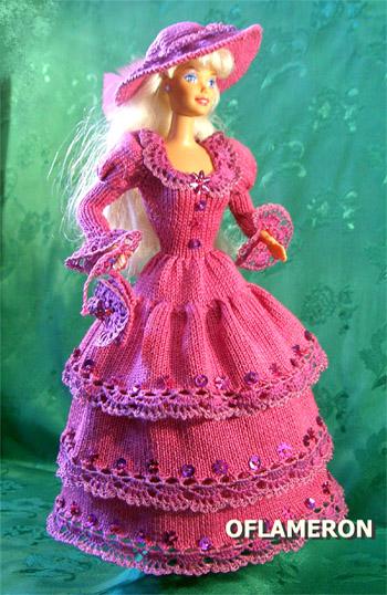 Мода и схемы вязания костюмов