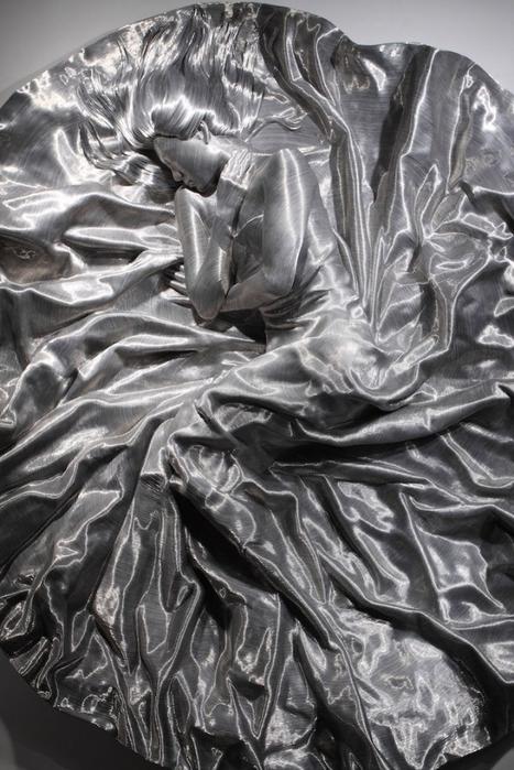 скульптуры из проволоки 9 (467x700, 254Kb)
