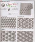 Превью Лоскутное шитье из полосок ткани. Журнал (66) (572x700, 288Kb)