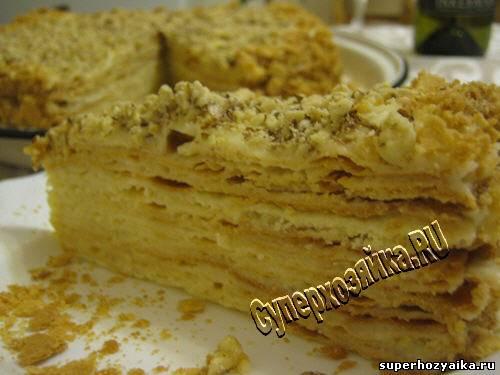 Торт Наполеон  Рецепт с фото/3973799_Tort_Napoleon_recept_s_foto (500x375, 28Kb)