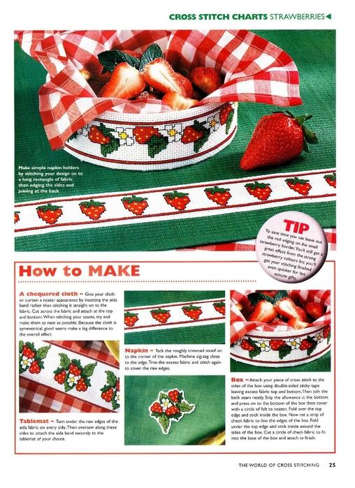 25 - Strawberry Borders (508x700, 310Kb)