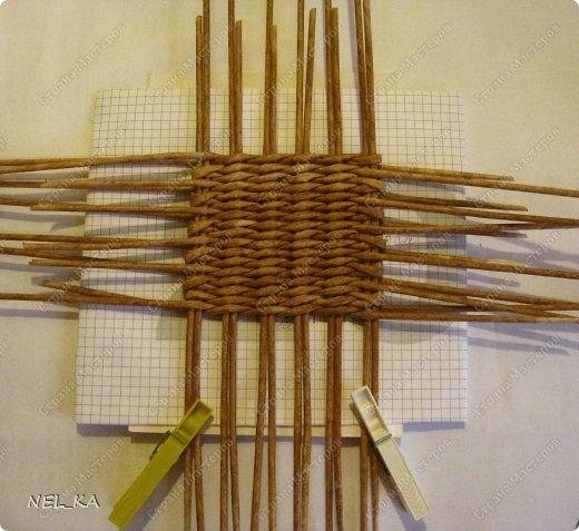 Плетение из газет. Чайный домик. Мастер-класс (1) (520x477, 142Kb)