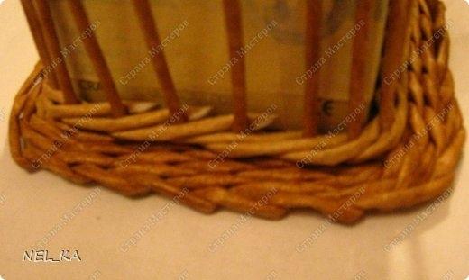 Плетение из газет. Чайный домик. Мастер-класс (7) (520x311, 78Kb)