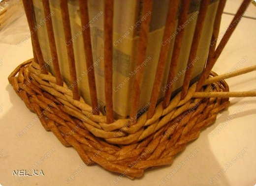 Плетение из газет. Чайный домик. Мастер-класс (9) (520x379, 108Kb)