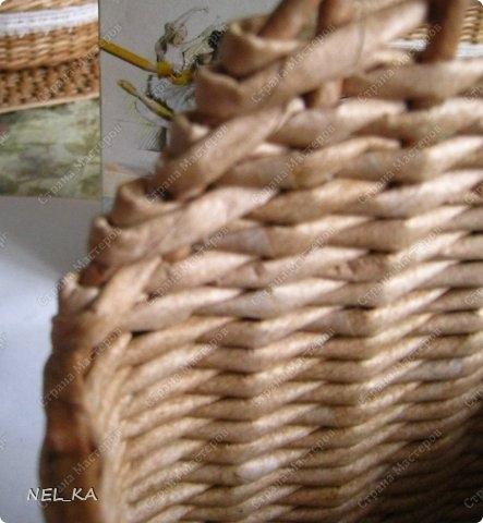 Плетение из газет. Чайный домик. Мастер-класс (19) (443x480, 109Kb)