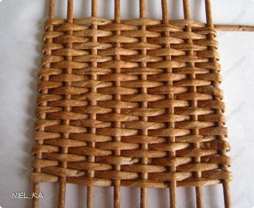 Плетение из газет. Чайный домик. Мастер-класс (25) (520x426, 134Kb)