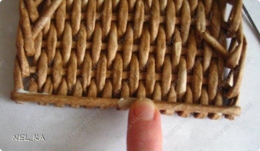 Плетение из газет. Чайный домик. Мастер-класс (27) (520x303, 83Kb)