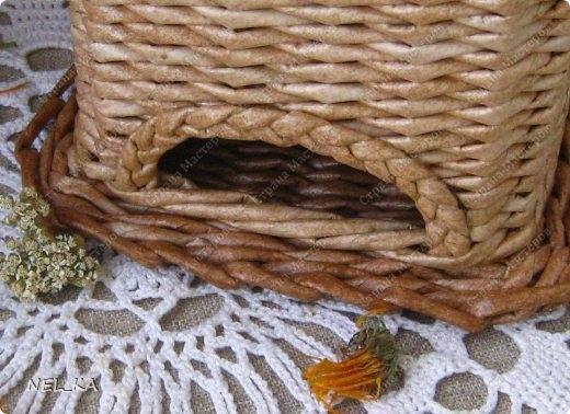 Плетение из газет. Чайный домик. Мастер-класс (29) (520x378, 143Kb)